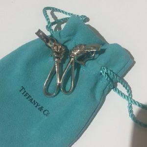Tiffany vintage sterling earrings